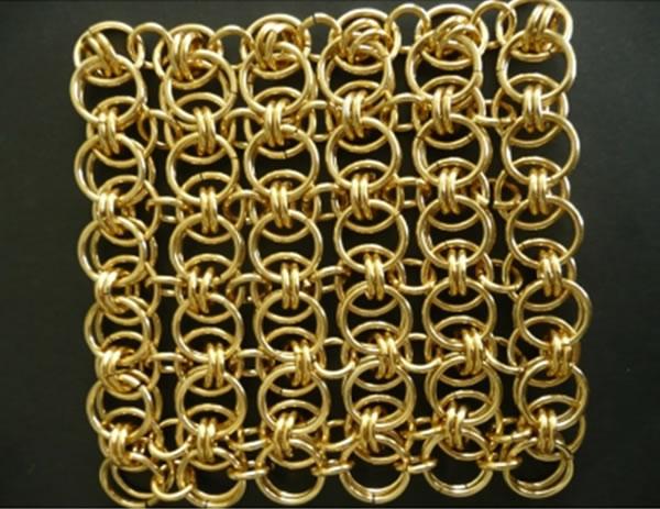 Decorative Metal Ring Mesh Stainless Steel Ring Mesh