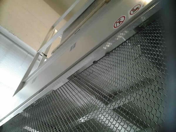 Architectural Coil Mesh Chain Curtains S Fold Or Straight Run