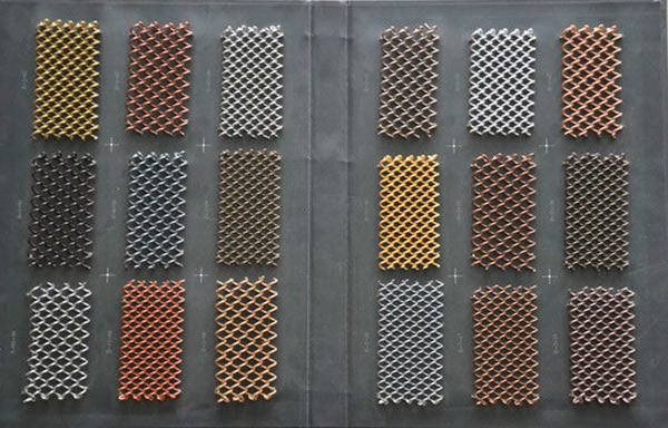 Architectural Mesh Metal Fabric Perforated Screen And