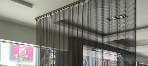 Stainless Steel Drapery Curtains