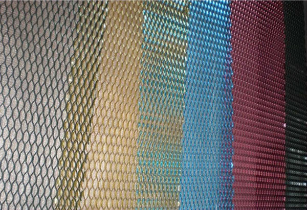Mesh Curtain Panels : Metal mesh façade grille decorative screen panels