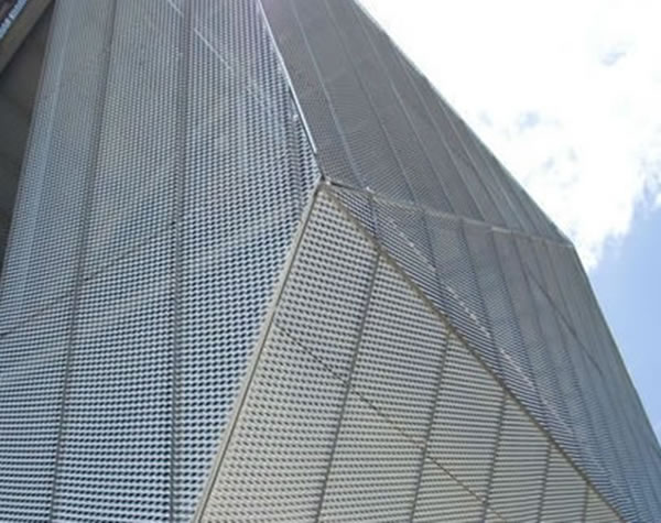 Perforated Metal Mesh Ceiling Grilles u2013 Decorative and Acoustic Panels