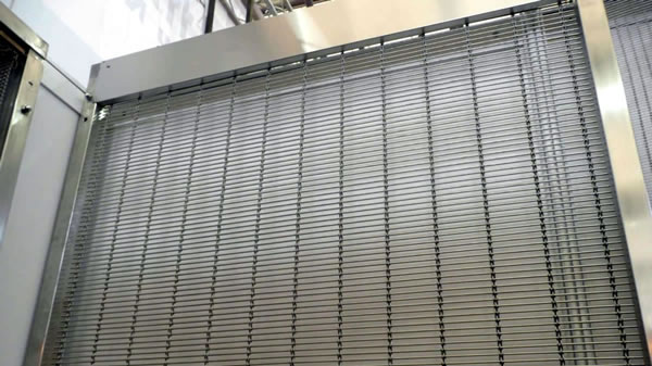 Perforated Metal Mesh Wall Cladding Panels For